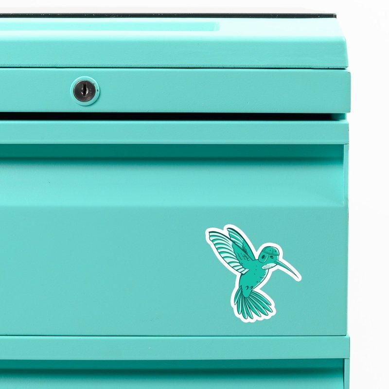 Hummingbird Varsity Accessories Magnet by Jake Giddens' Shop
