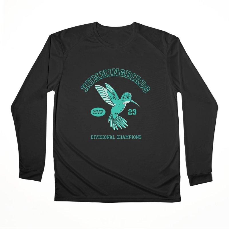 Hummingbird Varsity Men's Performance Longsleeve T-Shirt by Jake Giddens' Shop