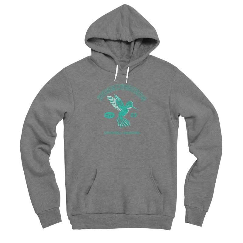 Hummingbird Varsity Men's Sponge Fleece Pullover Hoody by Jake Giddens' Shop
