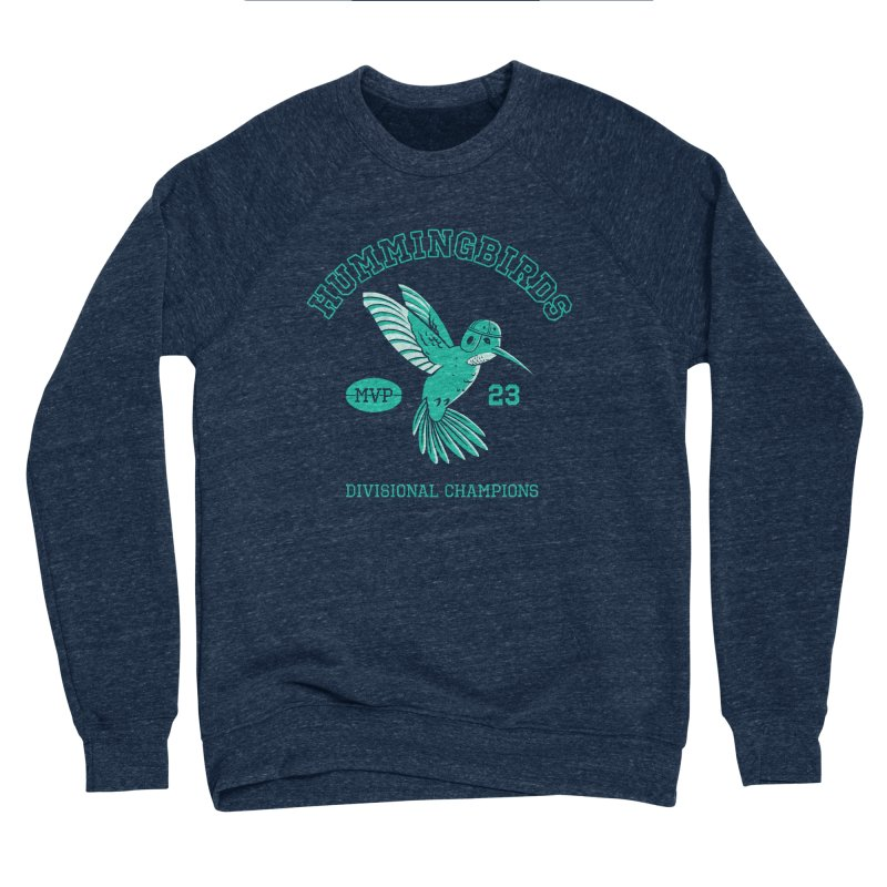 Hummingbird Varsity Women's Sponge Fleece Sweatshirt by Jake Giddens' Shop