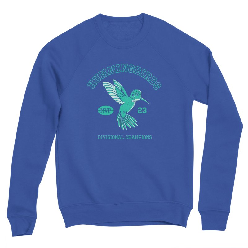 Hummingbird Varsity Men's Sponge Fleece Sweatshirt by Jake Giddens' Shop