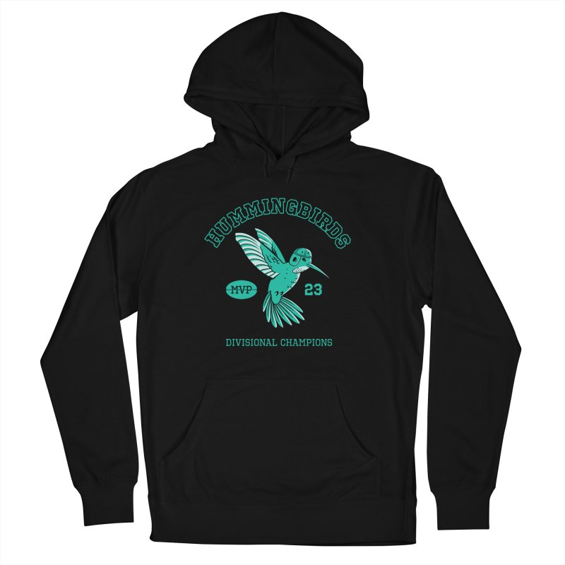Hummingbird Varsity Women's French Terry Pullover Hoody by Jake Giddens' Shop
