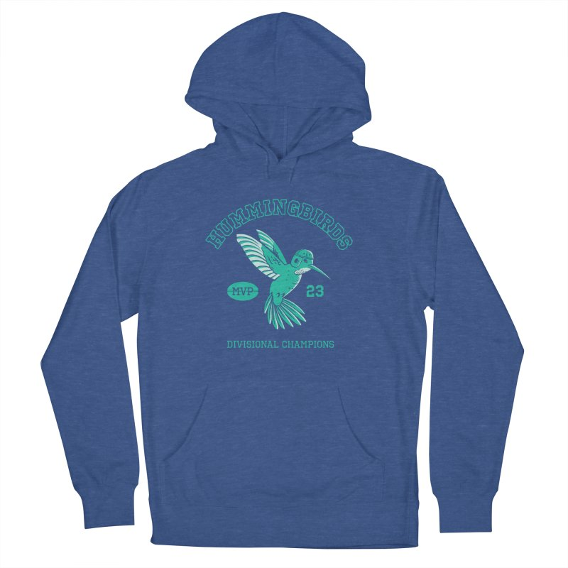 Hummingbird Varsity Men's French Terry Pullover Hoody by Jake Giddens' Shop