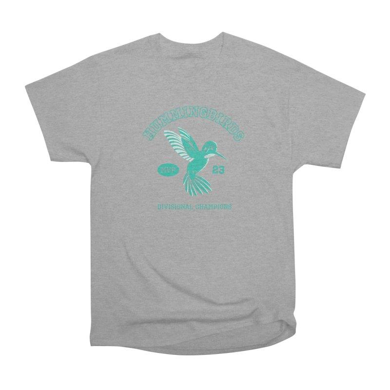 Hummingbird Varsity Women's Heavyweight Unisex T-Shirt by Jake Giddens' Shop