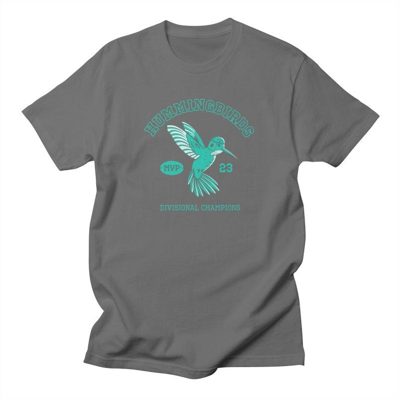 Hummingbird Varsity Women's Regular Unisex T-Shirt by Jake Giddens' Shop