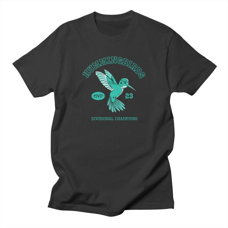 Hummingbird Varsity Men's Regular T-Shirt by Jake Giddens' Shop