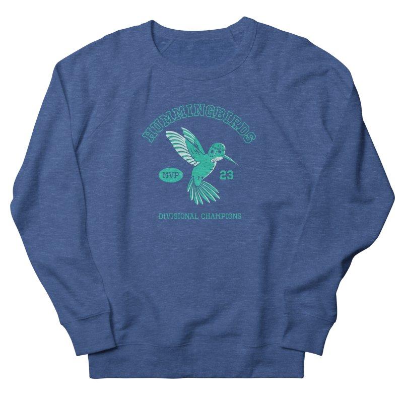 Hummingbird Varsity Men's French Terry Sweatshirt by Jake Giddens' Shop