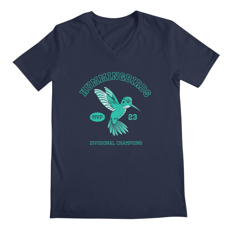 Hummingbird Varsity Men's Regular V-Neck by Jake Giddens' Shop