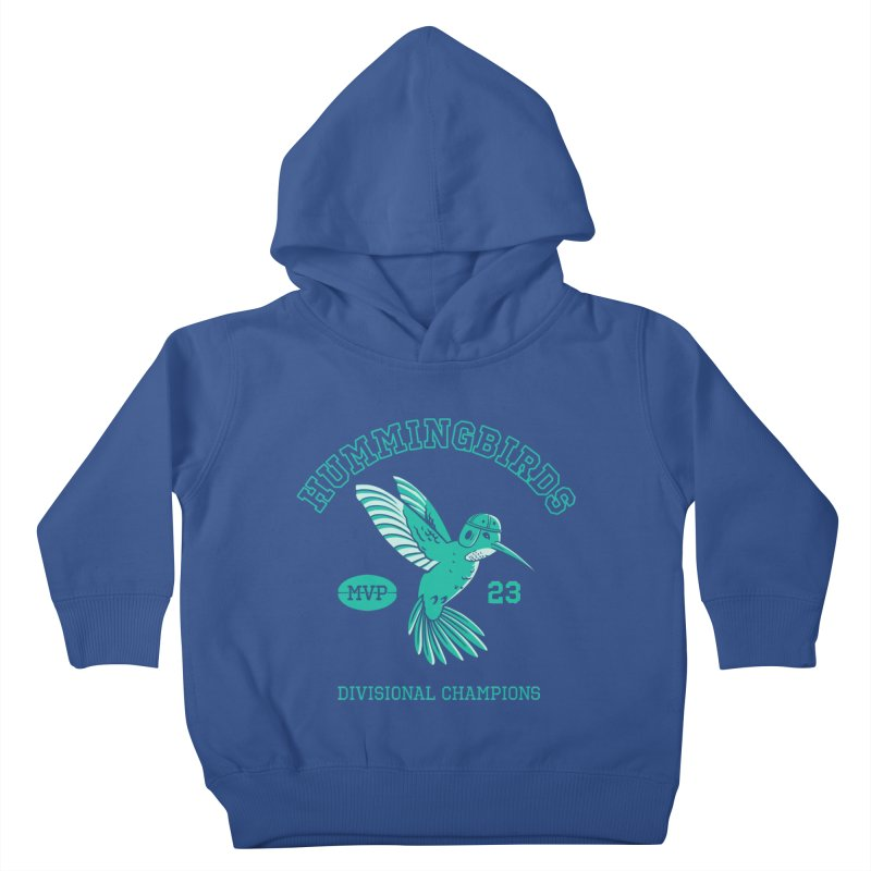 Hummingbird Varsity Kids Toddler Pullover Hoody by Jake Giddens' Shop