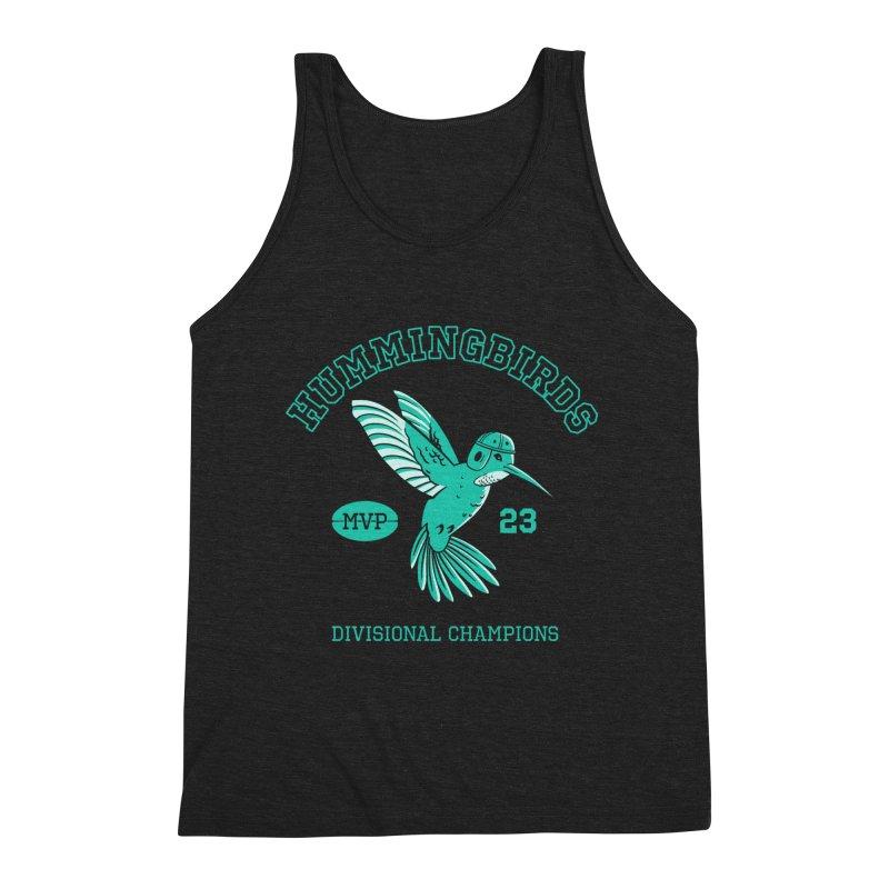 Hummingbird Varsity Men's Triblend Tank by Jake Giddens' Shop