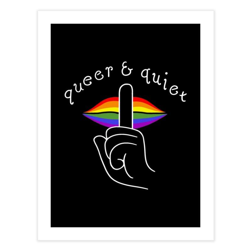 Queer & Quiet Home Fine Art Print by Jake Giddens' Shop