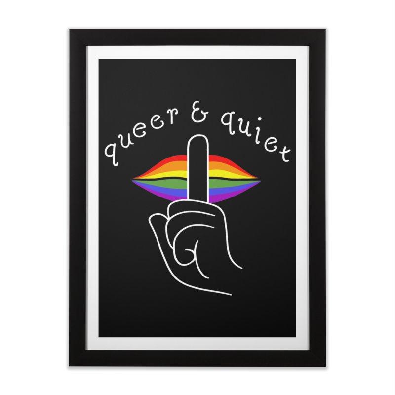 Queer & Quiet Home Framed Fine Art Print by Jake Giddens' Shop