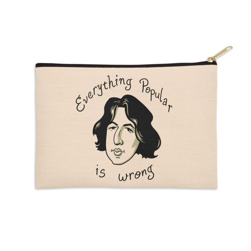 Everything Popular Is Wrong Accessories Zip Pouch by Jake Giddens' Shop
