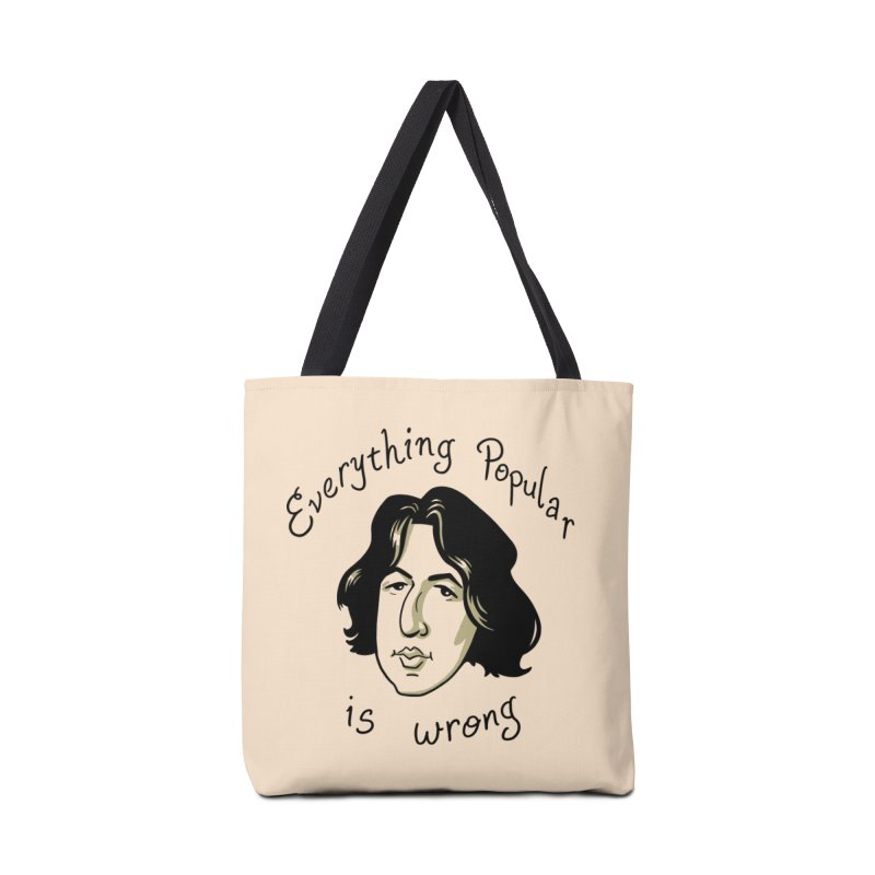 Everything Popular Is Wrong Accessories Tote Bag Bag by Jake Giddens' Shop