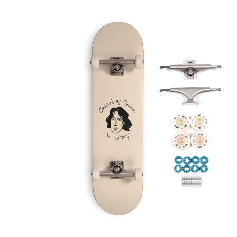 Everything Popular Is Wrong Accessories Complete - Premium Skateboard by Jake Giddens' Shop