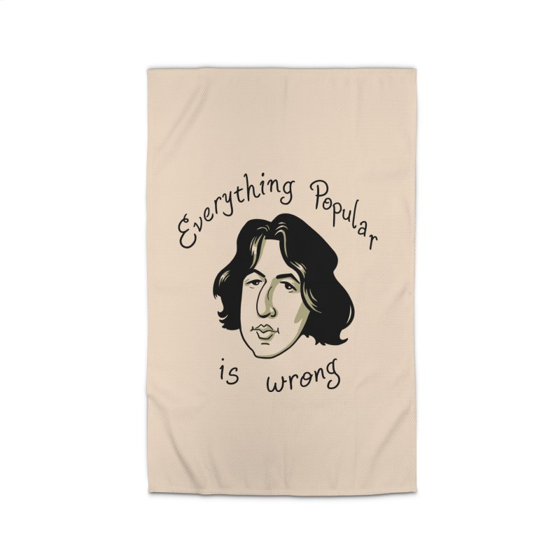 Everything Popular Is Wrong Home Rug by Jake Giddens' Shop
