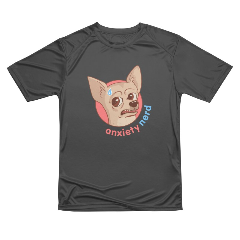 Anxiety Nerd Women's Performance Unisex T-Shirt by Jake Giddens' Shop