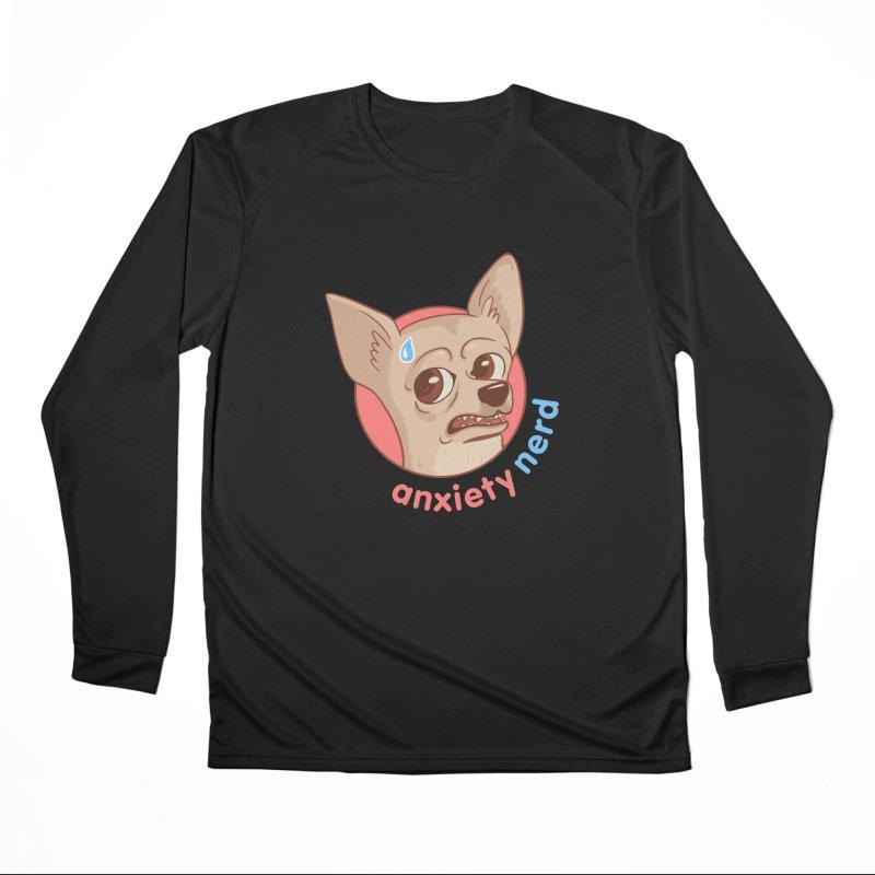 Anxiety Nerd Men's Performance Longsleeve T-Shirt by Jake Giddens' Shop