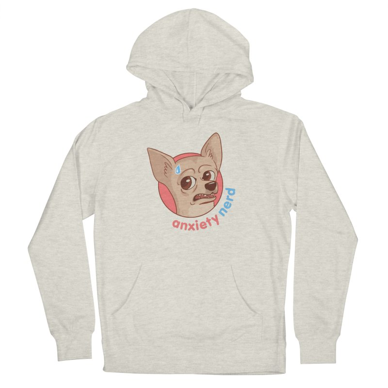 Anxiety Nerd Women's French Terry Pullover Hoody by Jake Giddens' Shop
