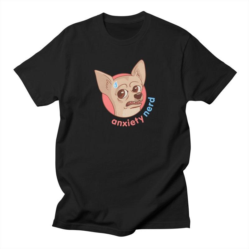 Anxiety Nerd Men's Regular T-Shirt by Jake Giddens' Shop