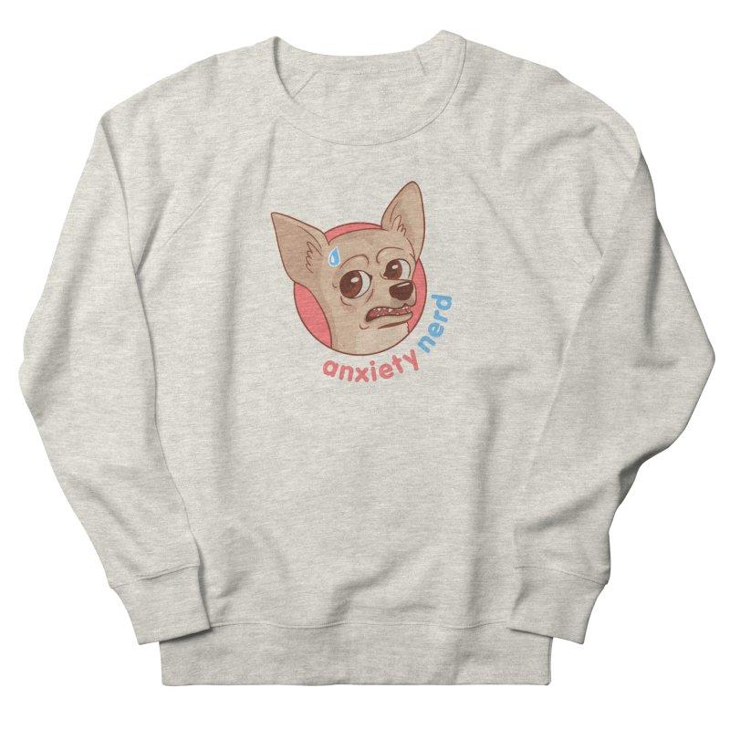 Anxiety Nerd Women's French Terry Sweatshirt by Jake Giddens' Shop