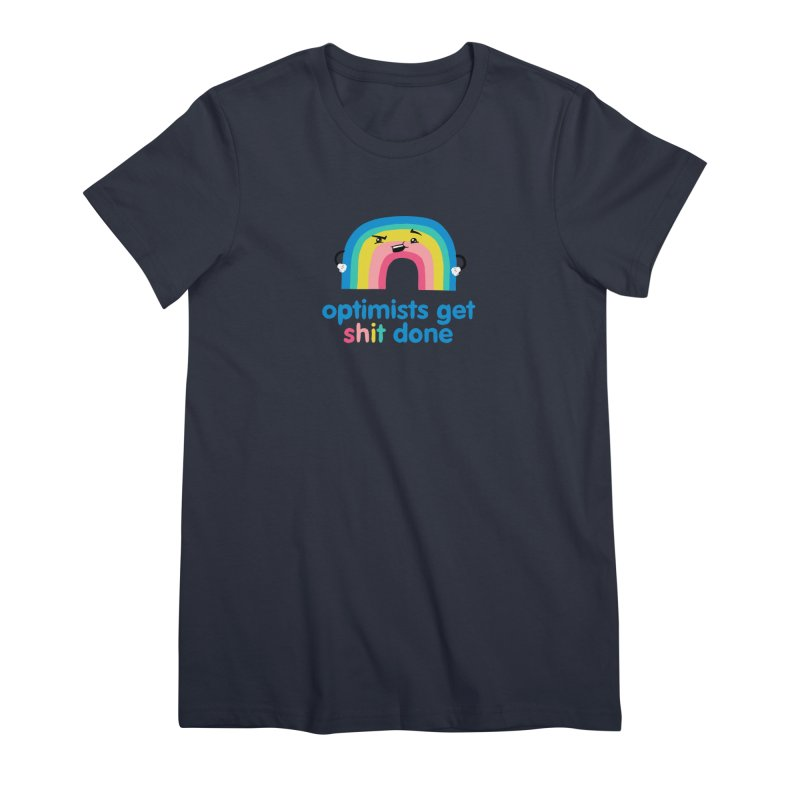 Optimists Women's Premium T-Shirt by Jake Giddens' Shop