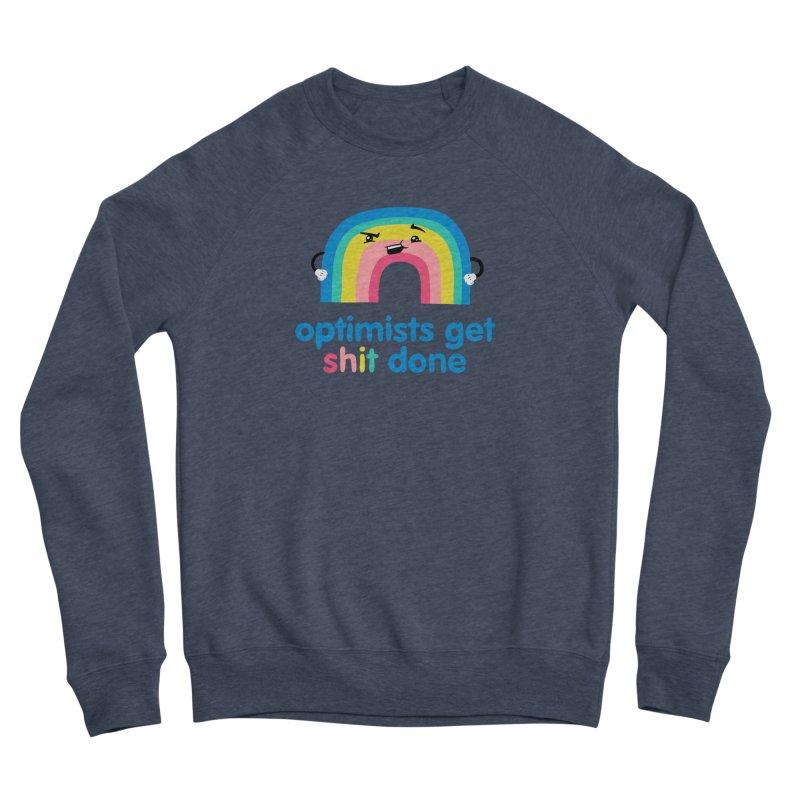 Optimists Women's Sponge Fleece Sweatshirt by Jake Giddens' Shop