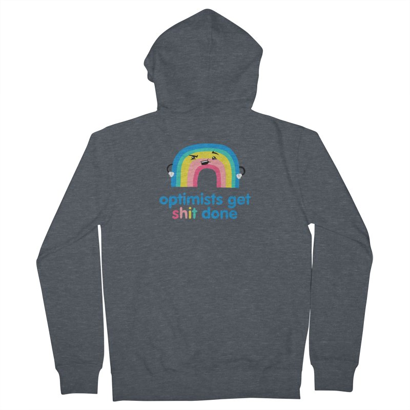 Optimists Men's French Terry Zip-Up Hoody by Jake Giddens' Shop