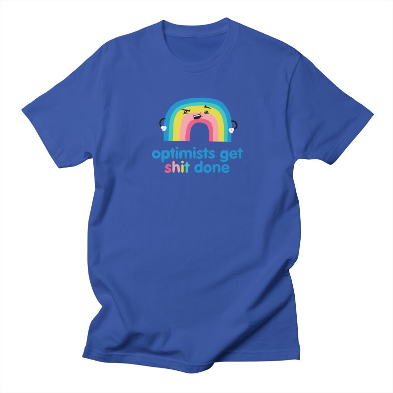 Optimists Women's Regular Unisex T-Shirt by Jake Giddens' Shop
