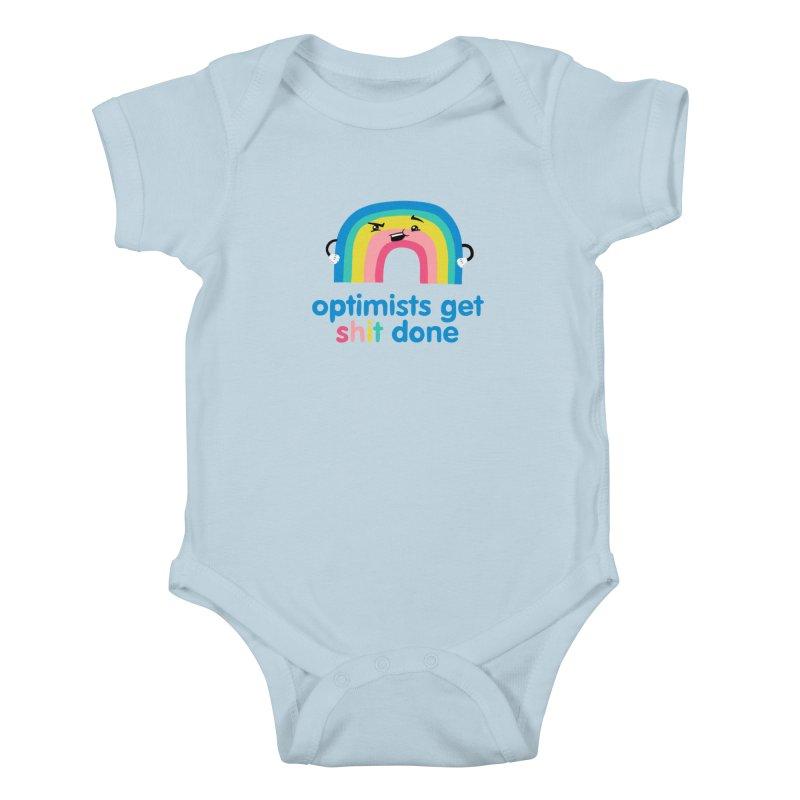 Optimists Kids Baby Bodysuit by Jake Giddens' Shop