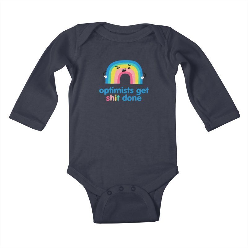 Optimists Kids Baby Longsleeve Bodysuit by Jake Giddens' Shop
