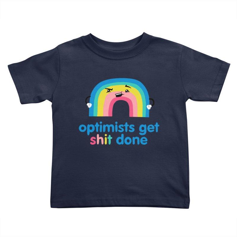 Optimists Kids Toddler T-Shirt by Jake Giddens' Shop