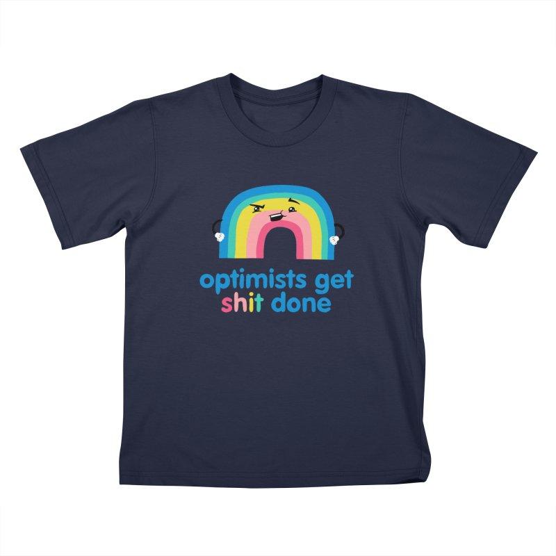 Optimists Kids T-Shirt by Jake Giddens' Shop
