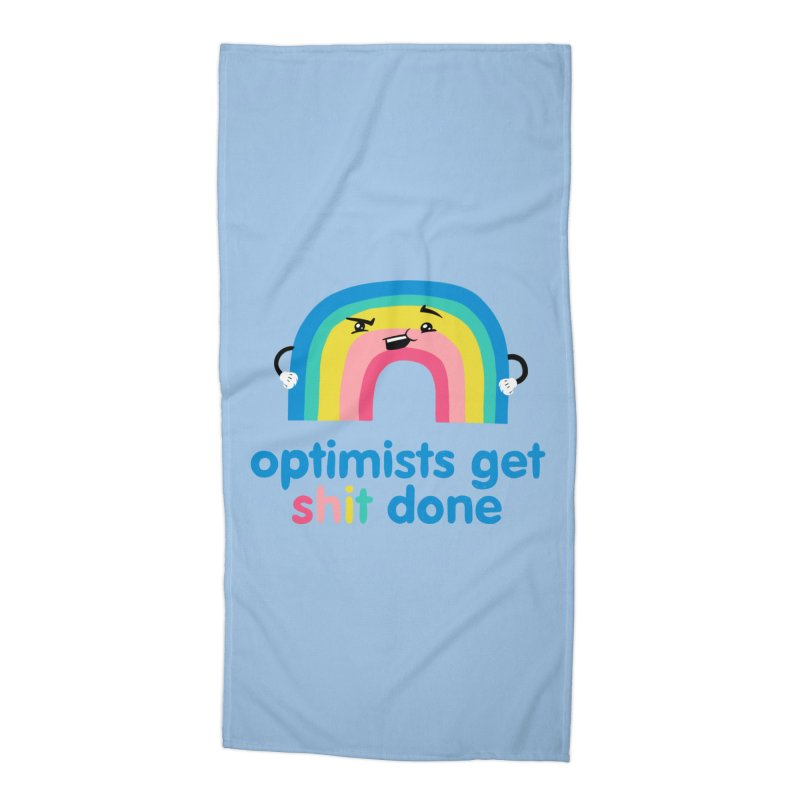 Optimists Accessories Beach Towel by Jake Giddens' Shop