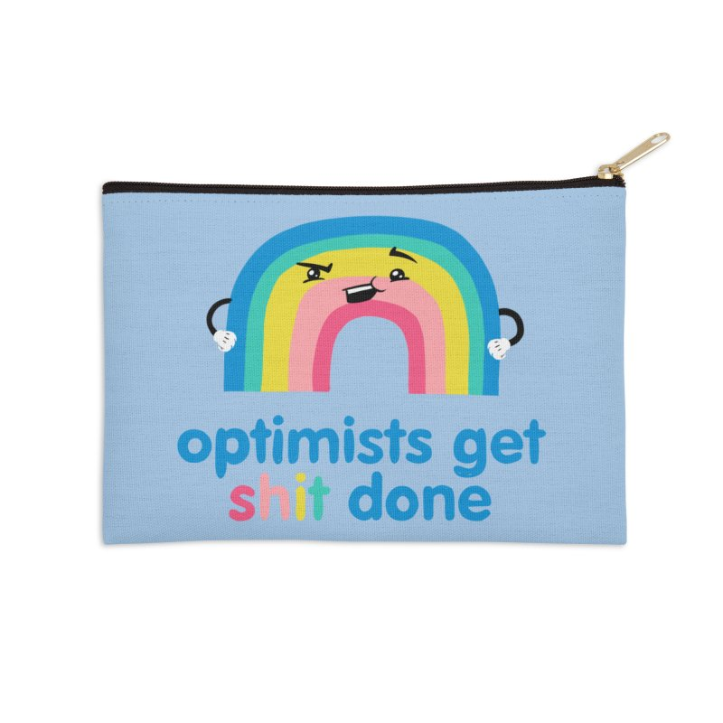 Optimists Accessories Zip Pouch by Jake Giddens' Shop