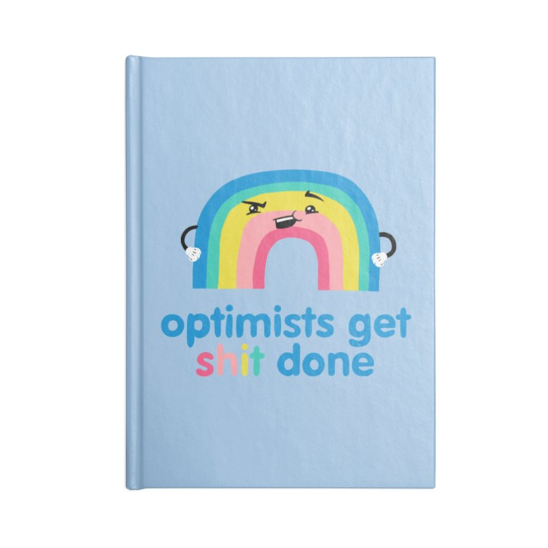 Optimists Accessories Blank Journal Notebook by Jake Giddens' Shop