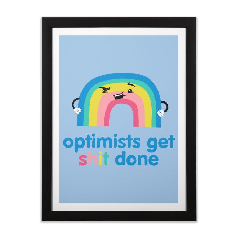 Optimists Home Framed Fine Art Print by Jake Giddens' Shop