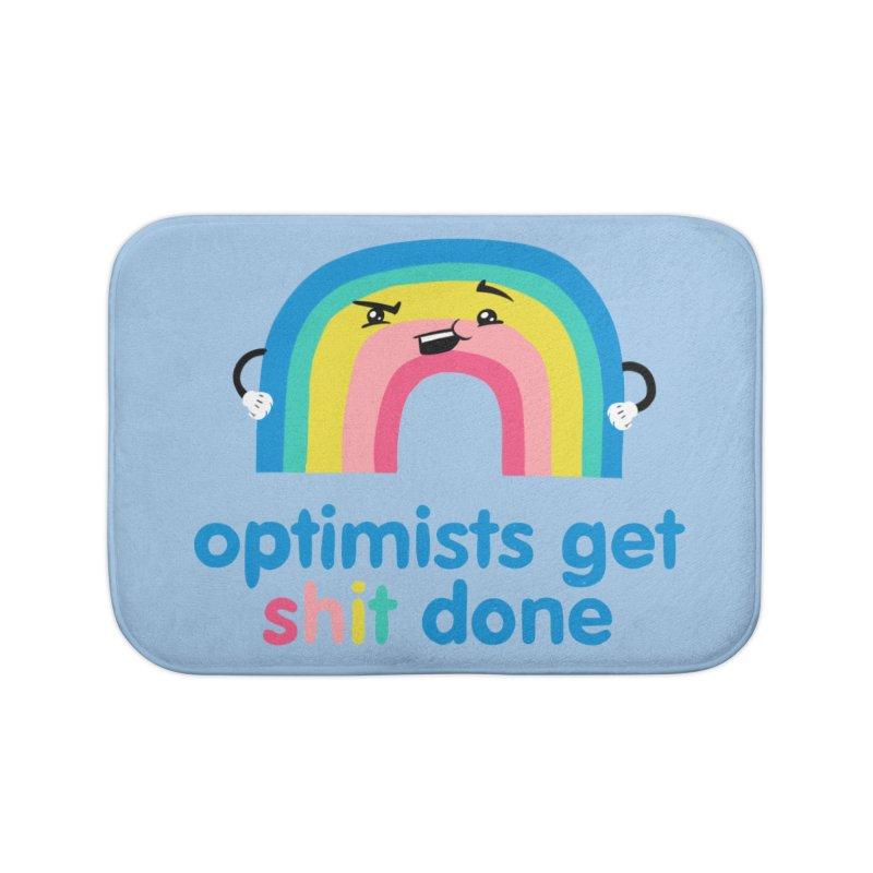 Optimists Home Bath Mat by Jake Giddens' Shop