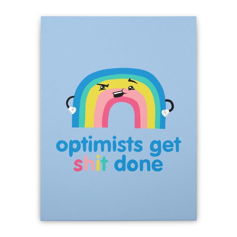 Optimists Home Stretched Canvas by Jake Giddens' Shop