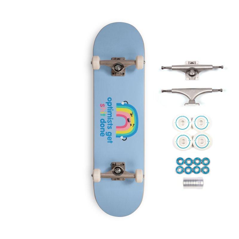Optimists Accessories Complete - Basic Skateboard by Jake Giddens' Shop