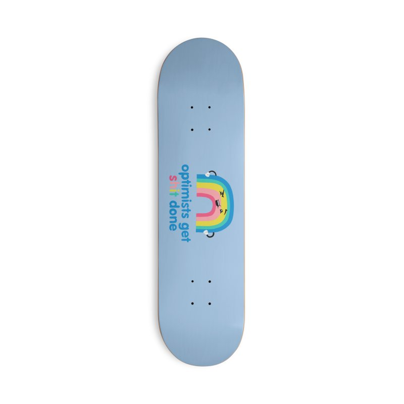 Optimists Accessories Deck Only Skateboard by Jake Giddens' Shop