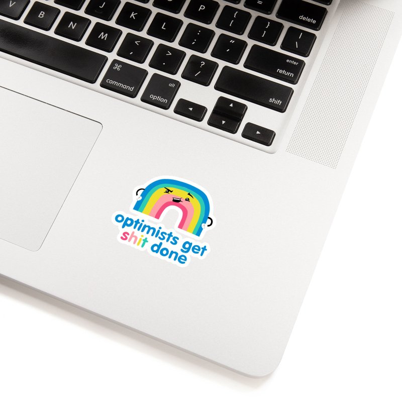 Optimists Accessories Sticker by Jake Giddens' Shop