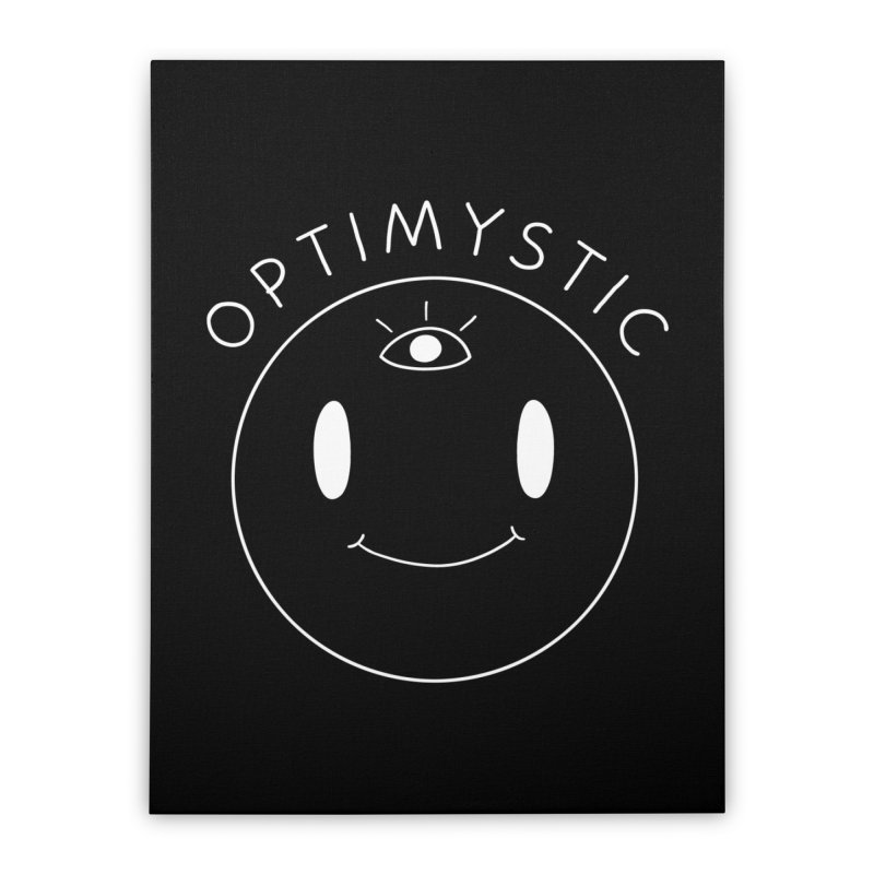 Optimystic Home Stretched Canvas by Jake Giddens' Shop