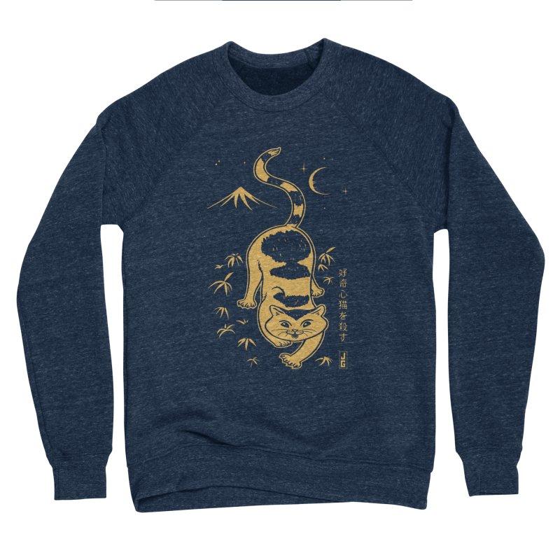 Playful Cat Women's Sponge Fleece Sweatshirt by Jake Giddens' Shop