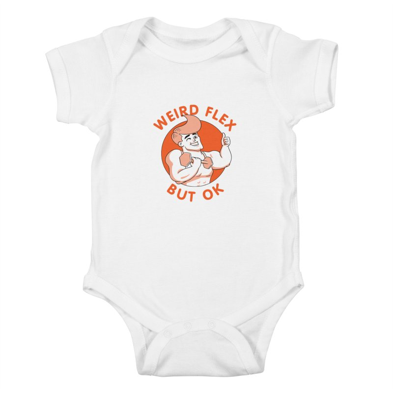 Weird Flex But OK Kids Baby Bodysuit by Jake Giddens' Shop