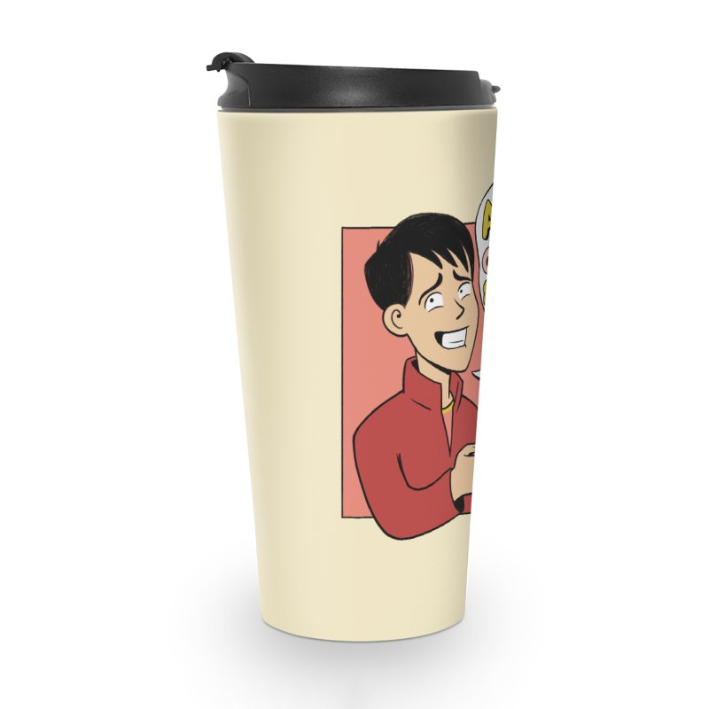 Coffee and Anxiety Accessories Travel Mug by Jake Giddens' Shop