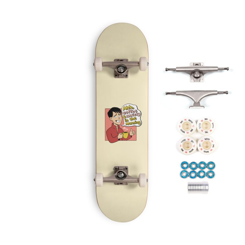 Coffee and Anxiety Accessories Complete - Premium Skateboard by Jake Giddens' Shop