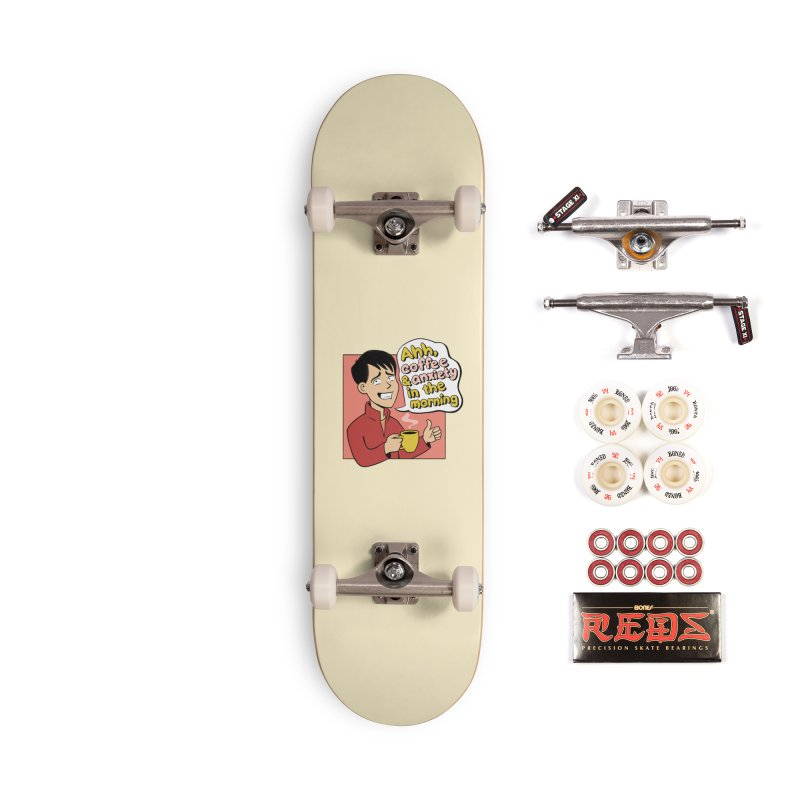 Coffee and Anxiety Accessories Complete - Pro Skateboard by Jake Giddens' Shop