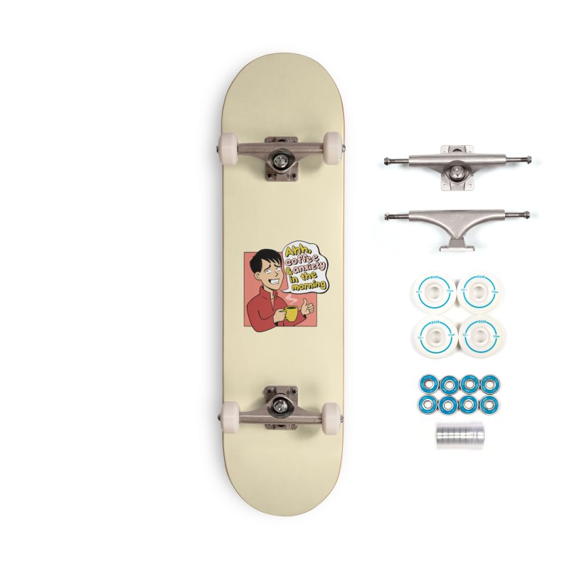Coffee and Anxiety Accessories Complete - Basic Skateboard by Jake Giddens' Shop