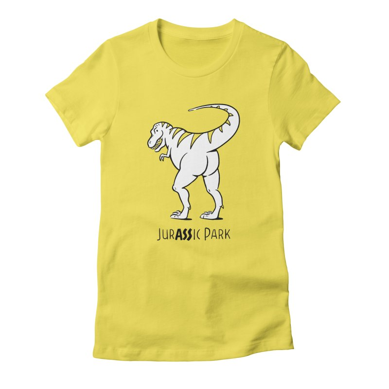 JurASSic Park Women's Fitted T-Shirt by Jake Giddens' Shop